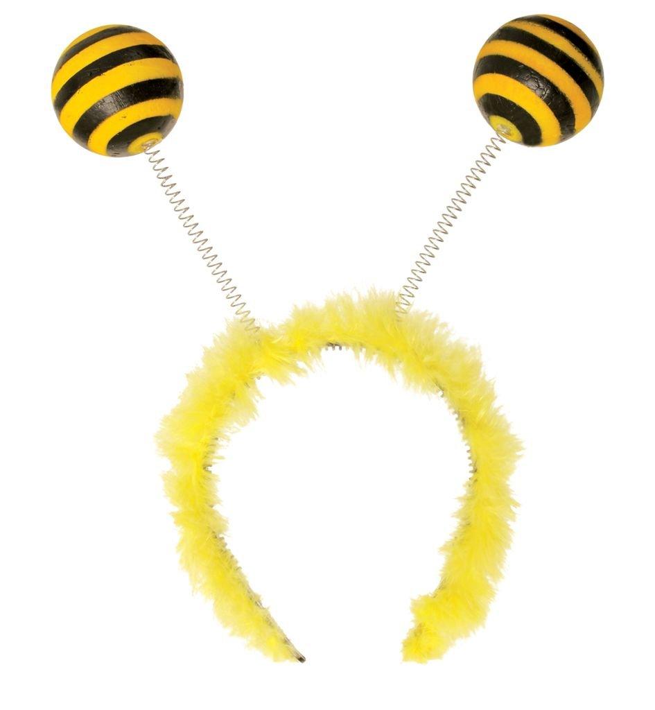 Bienen-Wabbles-Haarreif, Karneval, Biene, Mottoparty, Zubehör, Bommel, Party Zubehör Karnevalsteufel