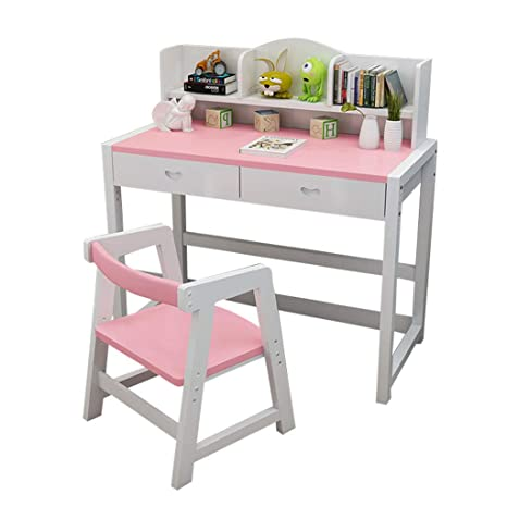 Amazon.com: Table & Chair Sets Childrens Study Table + Chair Home ...