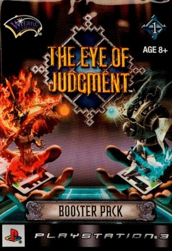 - The Eye of Judgment Booster Pack (cards)
