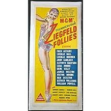 REDUCED 120 ZIEGFELD FOLLIES 1945 LB AUSTRALIAN WAYBILL DANCER ART MANY STARS