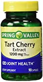 Spring Valley Tart Cherry Extract for Joint Health, 1200 Mg, 90 Capsules