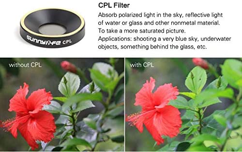 Color: ND32, Delivery from 15 to 20 Days Yoton Accessories ND4 ND8 ND16 ND32 CPL MCUV Lens Filter for Parrot ANAFI Drone Gimbal Camera Lens