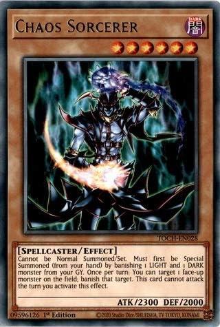 TOCH-EN028 Rare 1st Edition Chaos Sorcerer