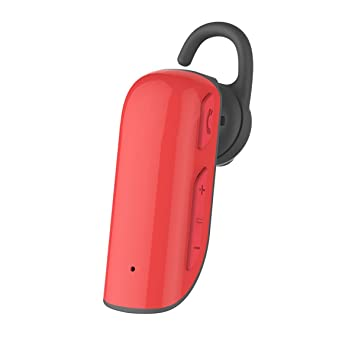 Auriculares Bluetooth Inalámbricos Zoiibuy V4,1 Noise Reduction Bluetooth Headset in ear for iPhone Samsung HUAWEI XIAOMI OPPO Rojo: Amazon.es: Electrónica