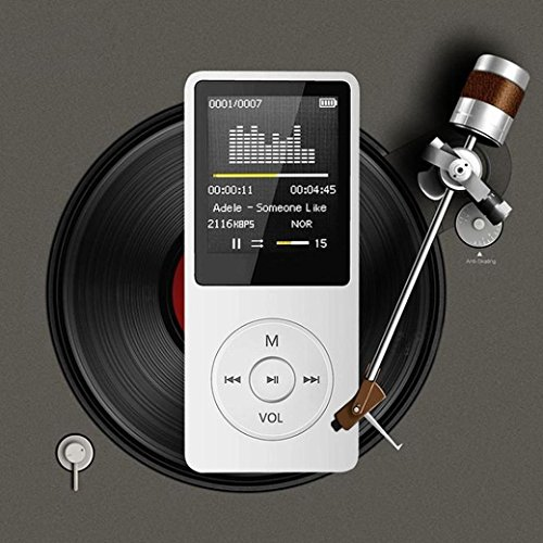 MP3 Player,Vanvler LCD Screen { Portable MP4 Player } FM Radio Video Games Movie Player