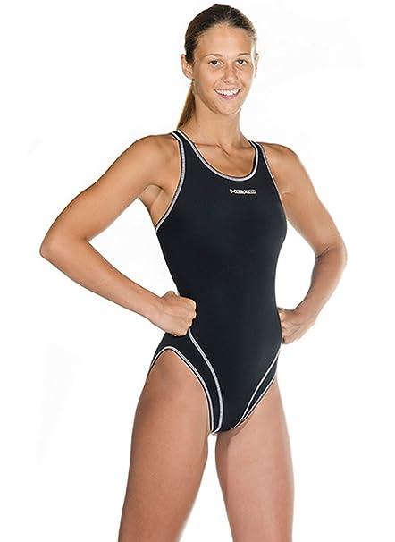 ada26bd0ea Amazon.com  HEAD Women s Liquid Last Wire Solid Swimsuit  Sports ...