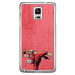 Loud Universe Ken Fiigure Action Samsung Note 4 Case Street Fighter Ken Samsung Note 4 Cover with Transparent Edges