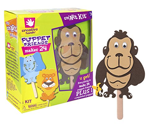 Kit, Puppet Friends, 24 Count (Creative Hands)