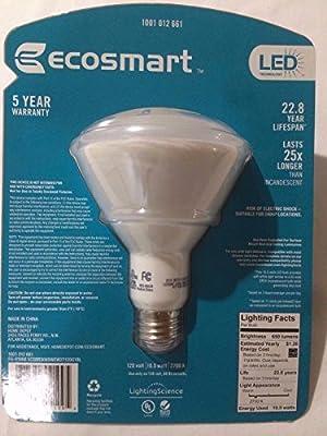 24 Pack / EcoSmart 65W Equivalent Soft White BR30 LED Light Bulb
