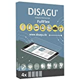 4 x Disagu FullFlex screen protector for Garmin nüvi 2577LT foil (screen protector fits accurately on any curved display)