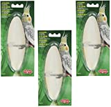 Product review for Living World Cuttlebone with Holder for Cage Bird, 6 to7-Inch, Large (3 Pack)