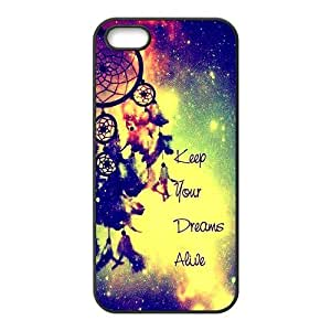 Distinctive colorful dreamcatch Cell Phone Case for iPhone 5S
