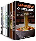Home Cooking with a Twist Box Set (6 in 1): Japanese, Chinese, Vegan, 5-Ingredient Recipes, Fat Bombs, Best Cocktails to Bring Inspiration to Your Kitchen (Homemade Favorites )