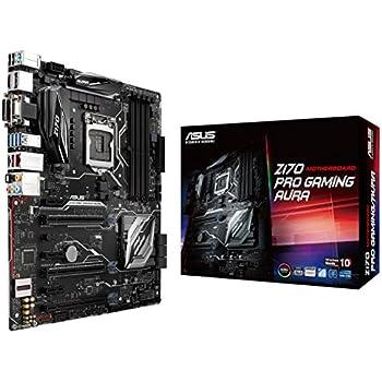 ASUS RGB LGA1151 DDR4 5-Way Optimization ATX Motherboard (Z170 Pro Gaming/AURA)