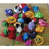 QINF Fruit Flower Modelling Animal Folding Shopping Bag