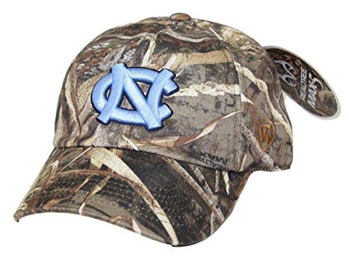 - Top of the World North Carolina Tar Heels Crew Max Realtree Camo Adjustable Hat/Cap Sizes 6 7/8-8
