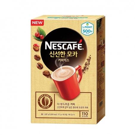 Nestle Nescafe Korean Instant Coffee 100 Sticks (Mocha)+Free Gifts(10 Sticks)