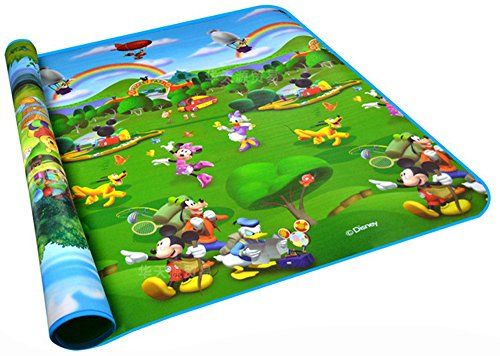 Baby Kid Toddler Play Crawl Mat Carpet Playmat Foam Blanket Rug for In or Out Doors (Mickey and Winnie the Pooh) by YATE