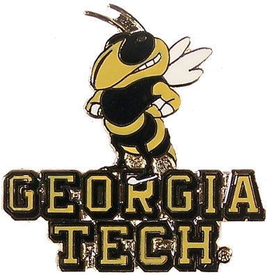 Georgia Tech Mascot Pin (Lapel Tech Pin)
