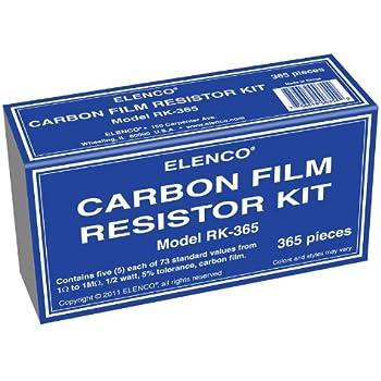 Elenco  365 Piece Resistor Kit - RK-365