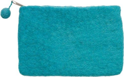 Dimensions Needlecrafts Feltworks, Mini Purse Turquoise