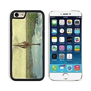 Beautiful African Giraffe Back Landscape Punktail's Collections iPhone 6 Cover Premium Aluminium Design TPU Case Open Ports