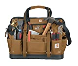 Carhartt Legacy Tool Bag 18-Inch w/ Molded Base, Carhartt Brown