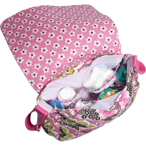 vera bradley messenger baby bag ribbons in the uae see prices reviews and. Black Bedroom Furniture Sets. Home Design Ideas