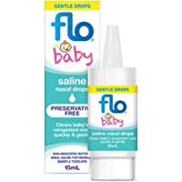 Flo Baby Saline Nasal Drops 15ml