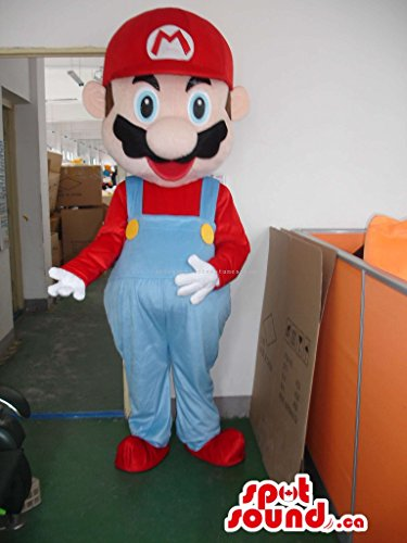 Super Mario Bros. Well-Known Video Game Character Mascot SpotSound US (Super Mario Mascot)