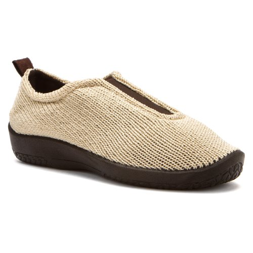 Arcopedico Women's ES Slip On Loafers Shoes Beige