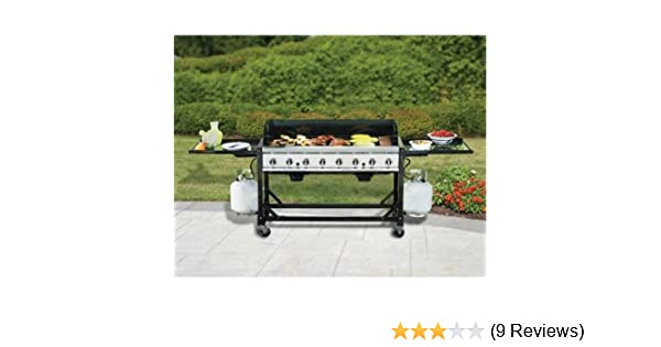 Amazon.com : Bakers & Chefs 8 Burner Event Grill : Freestanding Grills : Garden & Outdoor