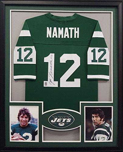 Joe Namath Framed Jersey Signed Namath Hologram Autographed New York Jets Alabama