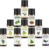 quality essential oils - PYRRLA Essential Oils,10 Highest Quality Essential Oil Set (Jasmine/Ylang ylang/Eucalyptus/Rosemary/Lemon/Patchouli/Vetiver/Clary Sage/Myrrh/Citronella)