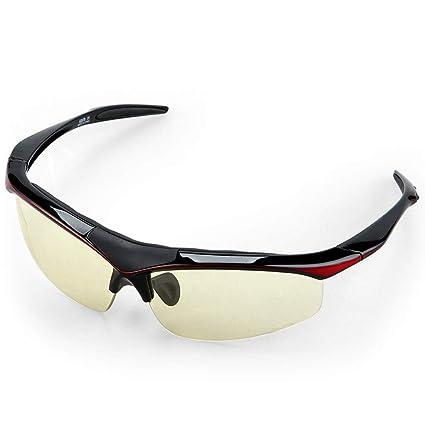 6e96b169f3 ZHEPENG Gafas de equitación Inteligentes con Lentes Que cambian de Color  para Gafas al Aire Libre