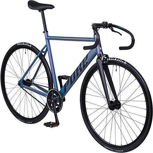 Pure Cycles Keirin Complete Fixed Gear Track Bike with Double-Butted 6061 Aluminum Frame – DiZiSports Store