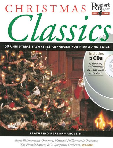 Christmas Classics: Reader's Digest Piano Library Book/2-CD Pack