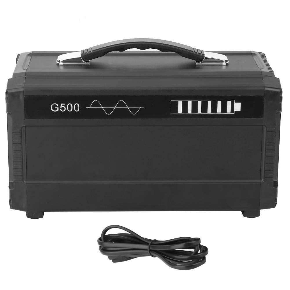 Solar Generator, Outdoors Portable Solar Generator Faster Charger with Cigarette Lighter 110-220V 500W(#5)