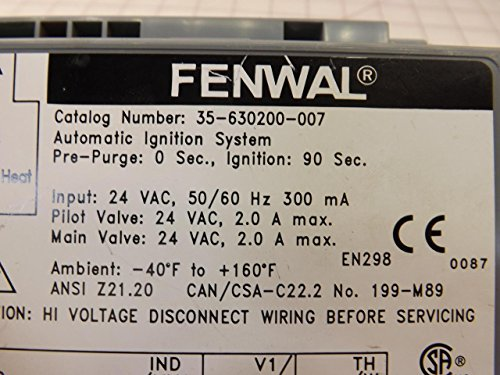 Fenwal Automatic Ignition Module Wiring Diagram Electrical. Fenwal 35 630200 007 Automatic Ignition System T35372 Industrial Module Cross Reference Wiring Diagram. Wiring. Fenwal Wiring Diagrams At Scoala.co