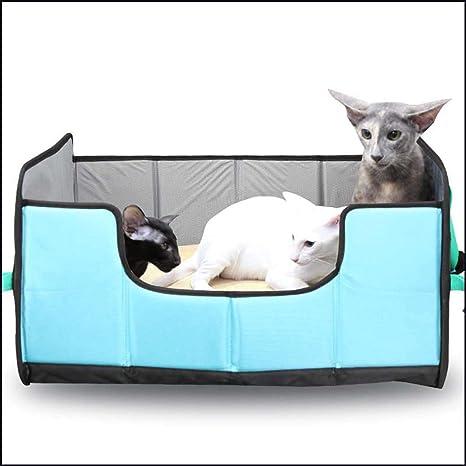 GLMAMK Perreras para Gatos, Respirables y Transpirables Ultimate Cat Scratcher Lounge, artículos de Viaje