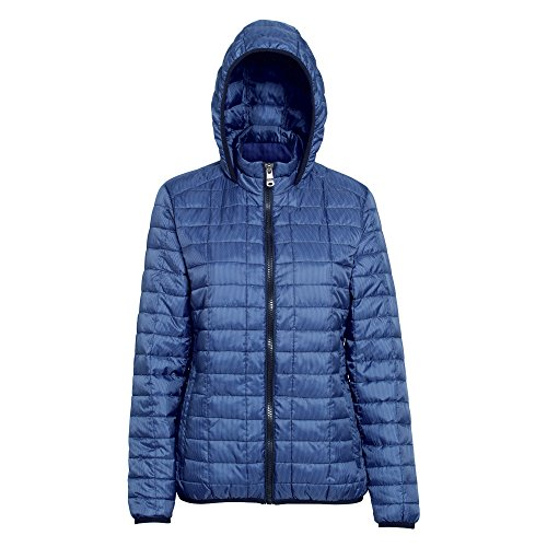 Hooded Red Chaqueta Women's 2786 mulberry Para 000 Gilet Mujer Honeycomb vWgRRfqE