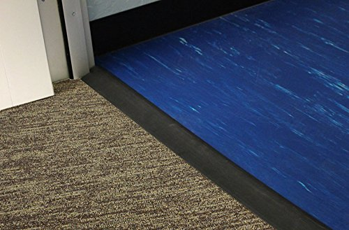IncStores Rubber Transition Floor Ramps Ideal For Rubber Tiles, Mats Or Rolls 12' Long Strip (4-6mm Ramp) by Incstores (Image #4)