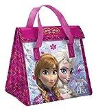 Zak Designs Disney Frozen Recycled Plastic Lunch Bag, Elsa & Anna