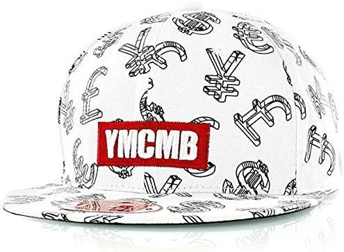 YMCMB – blanco/negro símbolo de moneda gorra: Amazon.es: Deportes ...