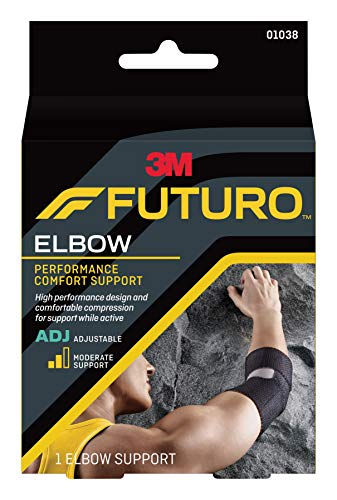 (Futuro Precision Fit Elbow Support, Moderate Support, Adjust to Fit)