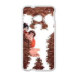 HTC One M7 Cell Phone Case White Wreck It Ralph D2P3LG