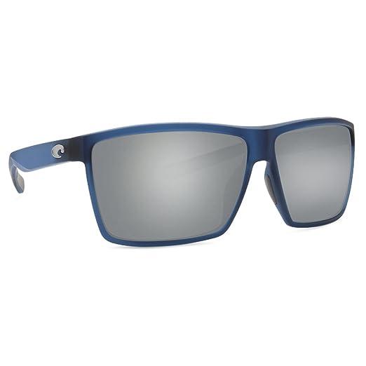 aa021ce73ee0b Amazon.com  Costa Del Mar Costa Del Mar RIN177OGGLP Rincon Gray 580G Matte  Atlantic Blue Frame Rincon