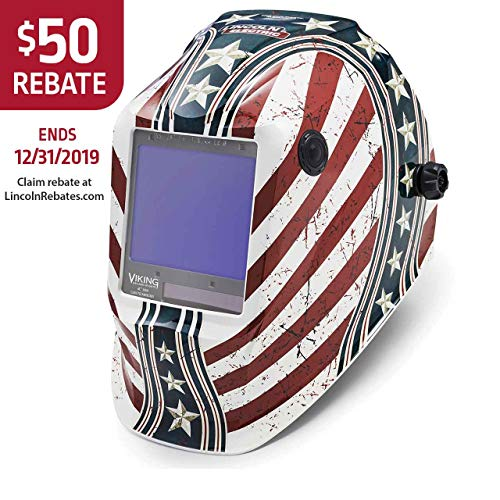 Lincoln Electric K3683-4 VIKING 3350 Welding Helmet, Daredevil