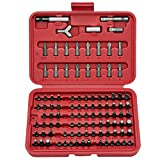 Neiko 10029A Security Bit Set, Cr-V 100-Piece Set