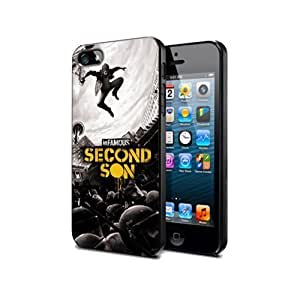 Infamous Second Son Game Case For Htc One S Hard Plastic Cover Case Nif06